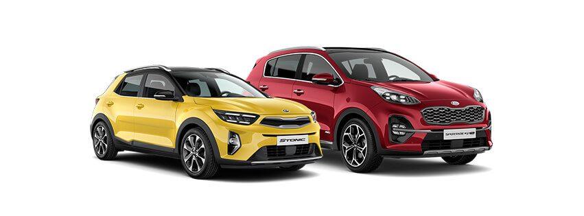 KIA Motors - Stonic i Sportag