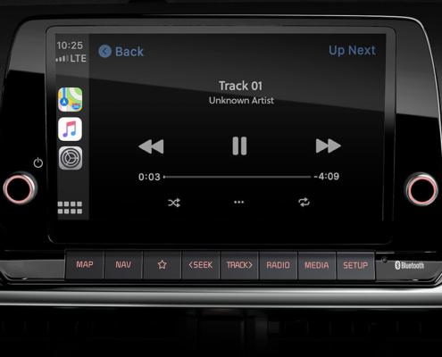 Android Auto i Apple CarPlay KIA