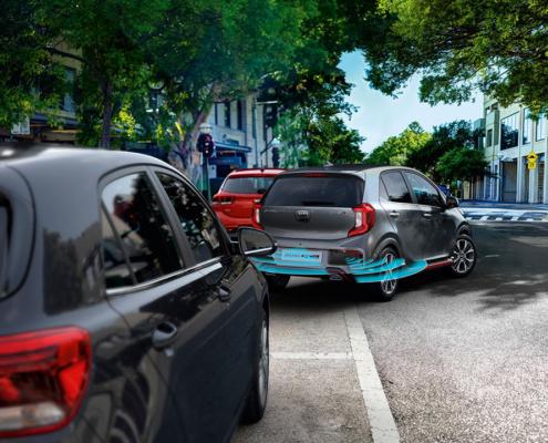 czujniki parkowania KIA Picanto